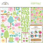 Doodlebug Design - Spring Things Collection - Essentials Kit