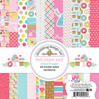 Doodlebug Design - Cream and Sugar Collection - 6 x 6 Paper Pad
