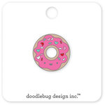 Doodlebug Design - Cream and Sugar Collection - Collectible Pins - Donut