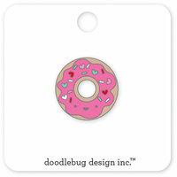 Doodlebug Design - Cream and Sugar Collection - Collectible Pins - Donut