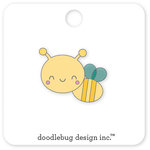 Doodlebug Design - Spring Things Collection - Collectible Pins - Honey Bee