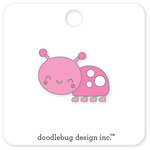 Doodlebug Design - Spring Things Collection - Collectible Pins - Little Lady