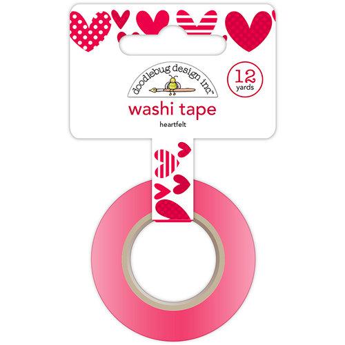 Doodlebug Design - Yankee Doodle Collection - Washi Tape - Heartfelt