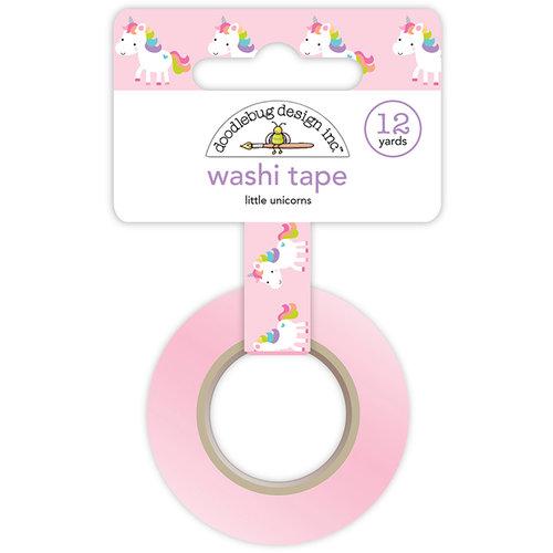 Doodlebug Design - Fairy Tales Collection - Washi Tape - Little Unicorns