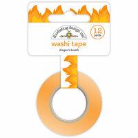 Doodlebug Design - Dragon Tails Collection - Washi Tape - Dragon's Breath
