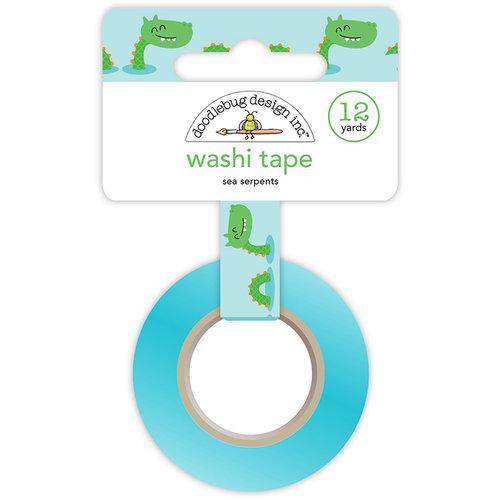 Doodlebug Design - Dragon Tails Collection - Washi Tape - Sea Serpents