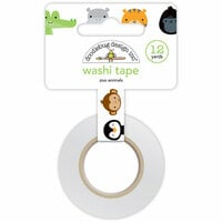 Doodlebug Design - At the Zoo Collection - Washi Tape - Zoo Animals