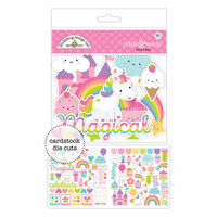 Doodlebug Design - Fairy Tales Collection - Odds and Ends - Die Cut Cardstock Pieces