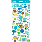 Doodlebug Design - Dragon Tails Collection - Cardstock Stickers - Icons