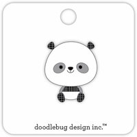 Doodlebug Design - At the Zoo Collection - Collectible Pins - Panda
