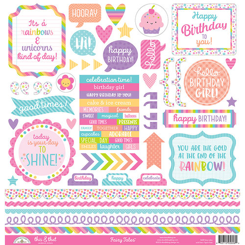 Doodlebug Design - Fairy Tales Collection - Cardstock Stickers - This and That