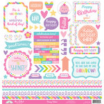 Doodlebug Design - Fairy Tales Collection - Cardstock Stickers - Mini Icons