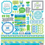 Doodlebug Design - Dragon Tails Collection - Cardstock Stickers - This and That
