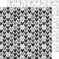 Doodlebug Design - Hats Off Collection - 12 x 12 Double Sided Paper - Party Hearty