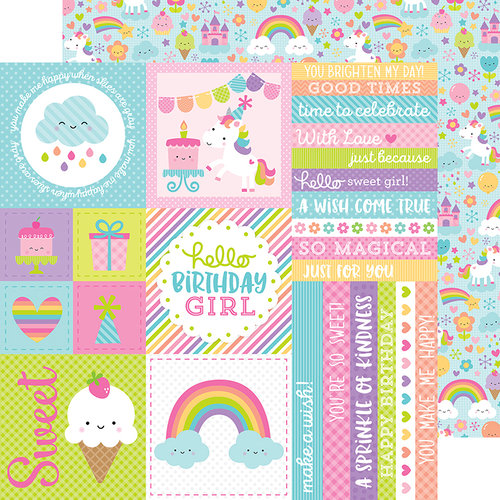 Doodlebug Design - Fairy Tales Collection - 12 x 12 Double Sided Paper - Fairy Tales