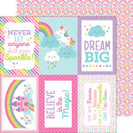Doodlebug Design - Fairy Tales Collection - 12 x 12 Double Sided Paper - Fairy-Fetti