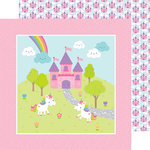 Doodlebug Design - Fairy Tales Collection - 12 x 12 Double Sided Paper - Once Upon a Time