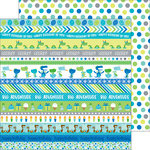 Doodlebug Design - Dragon Tails Collection - 12 x 12 Double Sided Paper - Dragon Dots