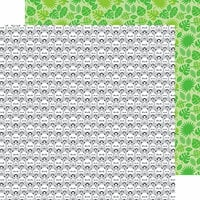 Doodlebug Design - At the Zoo Collection - 12 x 12 Double Sided Paper - Roly Poly Pandas