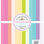 Doodlebug Design - Fairy Tales Collection - 12 x 12 Paper Pack - Petite Print Assortment