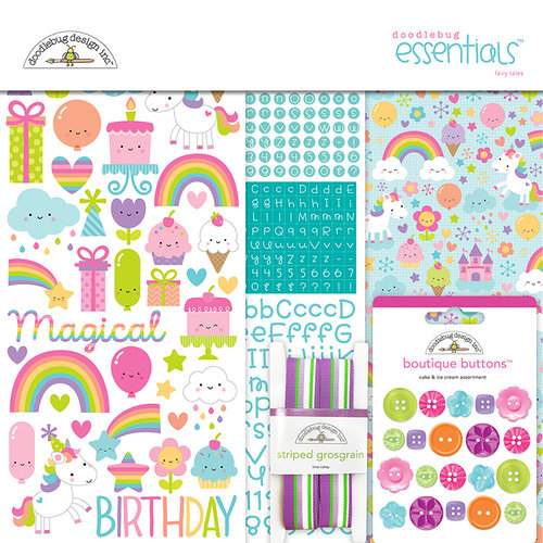 Doodlebug Design - Fairy Tales Collection - Essentials Kit