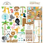 Doodlebug Design - At the Zoo Collection - Essentials Kit