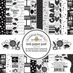 Doodlebug Design - Hats Off Collection - 6 x 6 Paper Pad