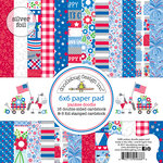 Doodlebug Design - Yankee Doodle Collection - 6 x 6 Paper Pad