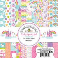 Doodlebug Design - Fairy Tales Collection - 6 x 6 Paper Pad
