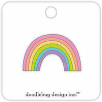 Doodlebug Design - Fairy Tales Collection - Collectible Pins - Rainbow