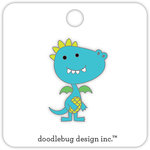 Doodlebug Design - Dragon Tails Collection - Collectible Pins - Dragon