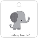 Doodlebug Design - At the Zoo Collection - Collectible Pins - Ellie