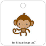 Doodlebug Design - At the Zoo Collection - Collectible Pins - Monkey