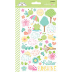 Doodlebug Design - Spring Things Collection - Cardstock Stickers - Icons - Mini