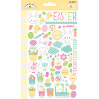 Doodlebug Design - Easter Express Collection - Cardstock Stickers - Icons - Mini