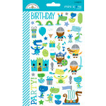 Doodlebug Design - Dragon Tails Collection - Cardstock Stickers - Mini Icons