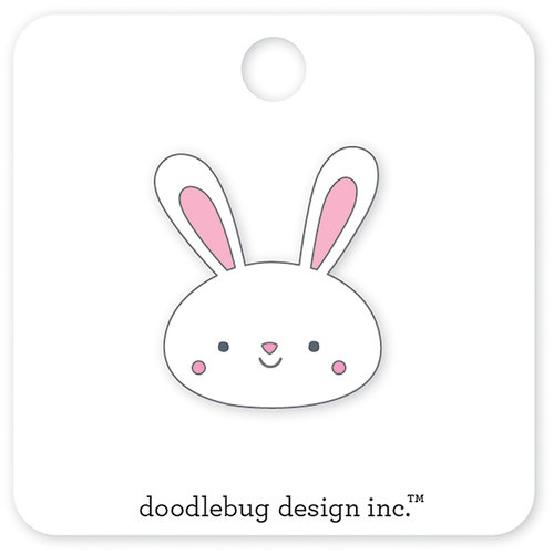Doodlebug Design - Easter Express Collection - Collectible Pins - Mr Bunny