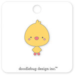 Doodlebug Design - Easter Express Collection - Collectible Pins - Chicky