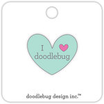 Doodlebug Design - Collectible Pins - I Love Doodlebug - Mint
