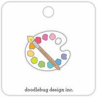 Doodlebug Design - Collectible Pins - Doodlebug Palette