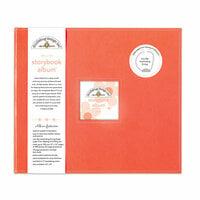 Doodlebug Design - 12 x 12 Storybook Album - Coral