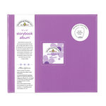 Doodlebug Design - 12 x 12 Storybook Album - Lilac