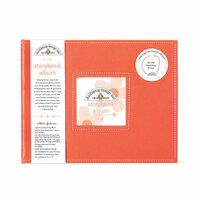 Doodlebug Design - 8 x 8 Storybook Album - Coral
