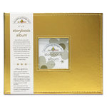 Doodlebug Design - 8 x 8 Storybook Album - Gold