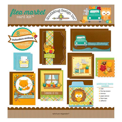 Doodlebug Design - Card Kit - Flea Market - All Occasion