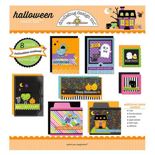 Doodlebug Design - Card Kit - Halloween