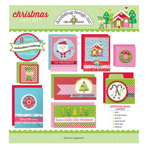 Doodlebug Design - Card Kit - Christmas