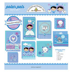 Doodlebug Design - Card Kit - Polar Pals - All Occasion