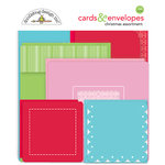 Doodlebug Design - Milk and Cookies Collection - Christmas - Create-A-Card - Cards and Envelopes - Christmas Assortment