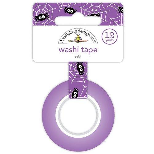 Doodlebug Design - Booville Collection - Halloween - Washi Tape - Eek